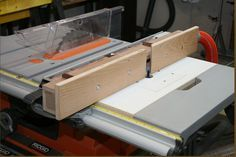 Ridgid R4510 Table Saw Router Insert Idea from…