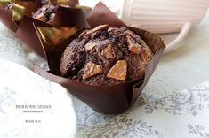 Muffins come quelli dell'autogrill, con ripieno goloso di Nutella | Kucina di Kiara