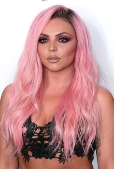 Jesy Nelson from Little Mix Jesy Nelson, Perrie Edwards, Divas, Little Mix Jesy, Litte Mix, Mixed Girls, Cute Beauty, Pink Hair, Blonde Hair