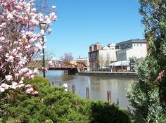 Fairport, NY : The Box Factory sits aside the historic Erie Canal.
