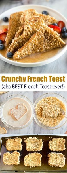 Toast is a cereal crusted french toast recipe that's sure to become a family favorite! via French Toast is a cereal crusted french toast recipe that's sure to become a family favorite! via Toast is a cereal crusted french toast rec. Breakfast And Brunch, Breakfast Pancakes, Morning Breakfast, Best Breakfast Foods, Easy Breakfast Food, Recipes For Breakfast, Yummy Breakfast Ideas, Raspberry Breakfast, Oat Pancakes