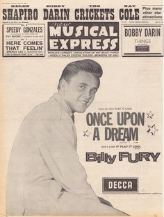 Billy Fury - Once Upon A Dream.