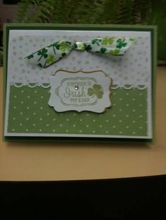 St Patricks Day cards by momx3boys - Cards and Paper Crafts at Splitcoaststampers