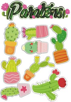 besnard corinne's media content and analytics Printable Stickers, Printable Planner, Printable Wall Art, Free Adult Coloring, Cactus Drawing, Cactus Decor, Class Decoration, Classroom Themes, Kawaii