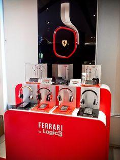 Ferrari headphones now in store