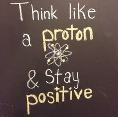 Never underestimate the power of positive thinking. (photo from Google Science Fair Google+ page: https://plus.google.com/+GoogleScienceFair/posts)