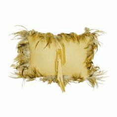 deerskin pillow