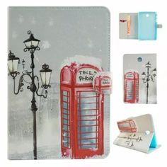 Fashion Print PU Leather Case Funda For Samsung Galaxy Tab A Cover Flip Card Slots Tablet Cover case Leather Books, Leather Case, Leather Wallet, Pu Leather, Ipad 4 Case, Galaxy Tab S, Flip Cards, Tablet Cover, Samsung Cases