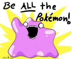 Lol #ditto #pokemon #funny