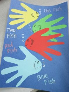 Very cute for Dr. Seuss Day. This would be great for the younger kids to do on our reading night! (Jaime) Crafts For Kids, 5 Year Old Crafts, Pre School Crafts, March Crafts, Daycare Crafts, Toddler Crafts, Fun Crafts, Art For Kids, Family Crafts