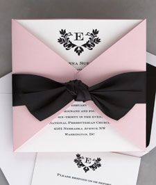 Cute wedding invitations!