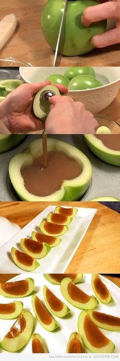 Old school caramel apples are out, THIS is in… OMG OMG OMG OMG MOM WE HAVE TO DO THIS