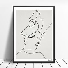 Cheap modern home decor, Buy Quality canvas poster directly from China painting black white Suppliers: KISS - One Line Drawing Face Sketches Minimalist Art Canvas Poster Painting Black White Abstract Picture Print Modern Home Decor