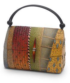 Wearable Objet D'Art : handbags and jewelry in alternative materials | Kathleen Dustin