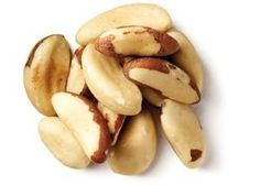 """Brazil nuts are an excellent source of complete protein and omega-6 fatty acids as well as vitamins E & B-complex and minerals such as selenium, zinc, copper, and manganese. Brazil nuts are a gluten-free food and are often used as alternative to wheat for those who suffer with celiac disease. Brazil nuts are known to help lower LDL """"bad cholesterol"""" and increase HDL """"good"""" cholesterol in the blood which can help to reduce the risk of strokes and heart disease."""