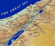 topographical map of israel helps with making the raised