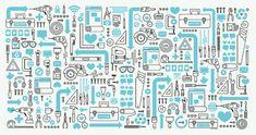 Facebook F8 - Mikey Burton / Designy Illustration
