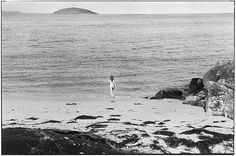Elliott Erwitt/Magnum Naked girl running into sea Balla, Isle of Eriskay, Outer Hebrides Eriskay. Lunar New Year 2018, Happy Lunar New Year, Documentary Photographers, Famous Photographers, Magnum Photos, Eliot Erwitt, Cologne, Elliott Erwitt Photography, Outer Hebrides