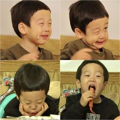 (Superman Returns) Seoeon and Seojun Have Aegyo Battle for Food