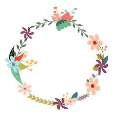 Vintage Floral Wreath clipart, cliparts of Vintage Floral Wreath ...