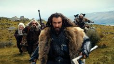 'Panting, Exhausted and Action!' http://www.hollywoodreporter.com/gallery/hobbit-peter-jackson-photos-379390#6