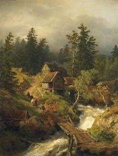 andreas achenbach paintings - Google Search