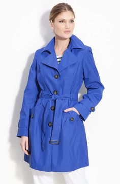 Gallery Single Breasted 'Memory' Trench Coat | Nordstrom