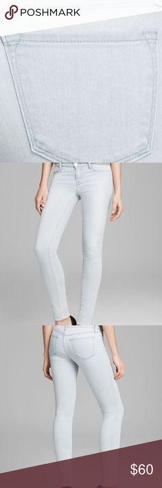 J brand super skinny jeans J brand super skinny light denim jeans. Only worn a few times. J Brand Jeans Skinny