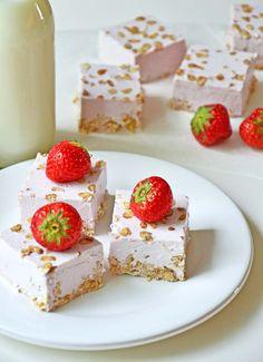 Raspberry jello cheesecake