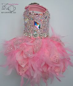 Dog Dress, Pink Swarovski Crystal Covered Feather Dress, Couture - Featured at Oscars 2015 by KOCouture on Etsy https://www.etsy.com/listing/225015814/dog-dress-pink-swarovski-crystal-covered