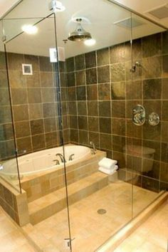perfect to soak, and rinse off afterwards. Lighter tile and add windows
