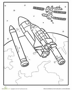 encourage your childs natural need to explore with our extensive collection of outer space coloring sheets featuring rocket ships
