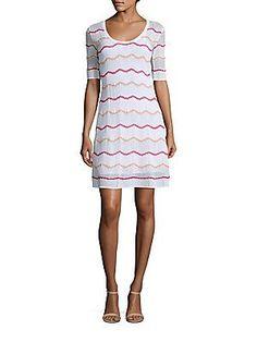 M Missoni Zigzag Shift Dress