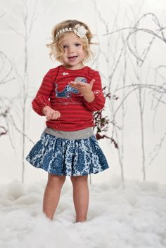 ALALOSHA: VOGUE ENFANTS: Persnickety Clothing christmas collection 2013