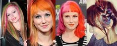 Hair, Colorful, Hairstyle, Avril Lavigne, Alexa Chung, Hayley Williams
