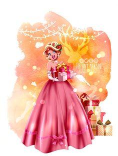 She looks like a Barbie doll with this type of bun XD rapunzel/tiana @ disney art ____________________________________. Crossover - Rapunzel as Tiana Disney Fan Art, Disney Love, Disney Artwork, Disney Girls, Disney Stuff, Gravity Falls, Pixar, Types Of Buns, Vintage Formal Dresses