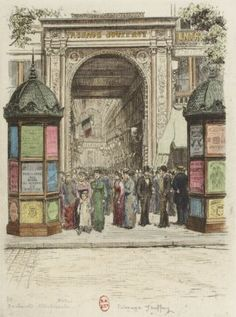 Boulevard Montmartre - Passage Jouffroy