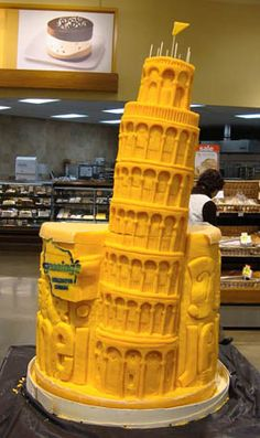 Leaning Tower of Piza by Sarah The Cheese Lady, via Flickr