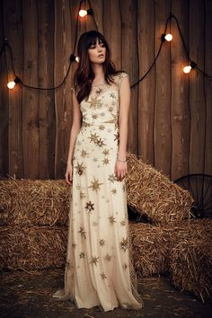 Starry night! Such a fun style dress