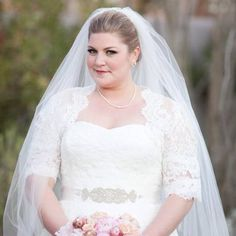 We sell custom #plussizeweddingdresses to many curvy #brides from all over the globe. We can also create a custom design based on any picture you have.  Making inexpensive #replicas of gowns that may be out of your budget is also an option. Get information about our process, pricing and other details at www.dariuscordell.com