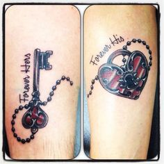 We love our new couple tattoo !!! ♥ #love #new #parchen #tattoo ... #couple #parchen #tattoo #diytattooimages
