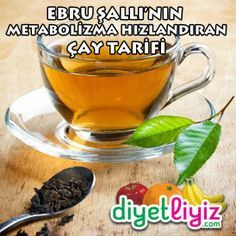 Ebru Şallı's Metabolism-Boosting Tea Recipe Diet Plans To Lose Weight Fast, Weight Loss Help, Lose Weight Naturally, Reduce Weight, Easy Weight Loss, How To Lose Weight Fast, Stomach Fat Loss, Speed Up Metabolism, Food Tags
