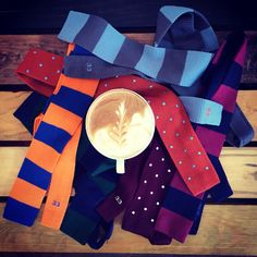 33 | The two things you need for a successful day: coffee and a tie  www.treinta-tres.com #33 #tie #coffee #goodmorning #success