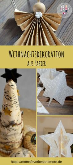 schneeflocken sterne aus buchseiten upcyclingnovember2012 pinterest upcycling. Black Bedroom Furniture Sets. Home Design Ideas