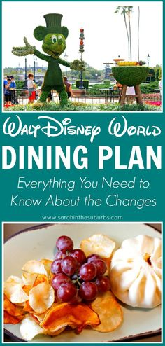Changes are coming to Disney's Dining Plan in 2018! What are those changes? Are they going to benefit you? Read on for more about the new changes to the Disney Dining Plan to see if it's right for your family.