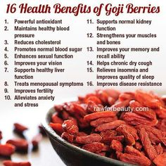 Goji Berry benefits. Snack 'em, put 'em in a trail mix, or add them to a smoothie. Woot Woot!