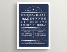 114 best navy blue wedding invitations images on pinterest in 2018