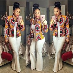 Awesome outfit   ~ DKK~ Latest African fashion, Ankara, kitenge, African women dresses, Bazin, African prints, African men's fashion, Nigerian style, Ghanaian fashion.