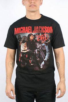 Michael Jackson - Mens Bad shirt. I need this shirt! My favorite music video and song.