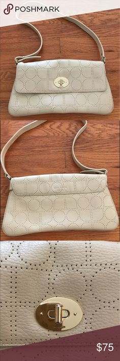 Kate Spade mini purse Cream leather Kate Spade purse in excellent condition kate spade Bags Mini Bags